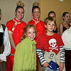 Courtesy photo/Gloucester Daily Times. Manchester:  Northeast Youth Ballet performing for Manchester Memorial Elementary School students recently at the Manchester Essex High School. In front, from left, are third graders Lucy Cootes and Tyler Erdmann. They are with dancers Jessica Griffin, Anna Whalen, Ellen Duddy and Max South. The dancers performed an abridged version of The Nutcracker at Manchester Essex High School, then held a question and answer session with the younger pupils.