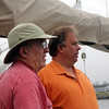 Photo Courtesy of Wise Laboratory/Ocean Alliance. Gloucester Daily Times. Roger Payne, left and John Wise.