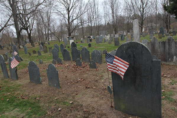 Allegra Boverman/Gloucester Daily Times. The old burial ground in Essex will be highlighted on a new walking path planned for the village.