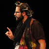 "Jim Vaiknoras/Gloucester Daily Times: Matthew Recine as Oberon, King of the Fairies, in the Cape Ann shakespeare troupe' s  ""Shakespeare in Two Acts,"" at the Gloucester Stage Co."