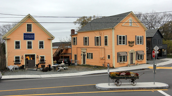 Allegra Boverman/Gloucester Daily Times. Antique shops in Essex will be highlighted on a new walking path planned for the village.