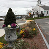 Allegra Boverman/Gloucester Daily Times. The Village Pocket Park in Essex will be highlighted on a new walking path planned for the village.