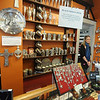 JIm Vaiknoras/Gloucester Daily Times. Zan Murch of The Pewter Shop on Bearskin Neck in Rockport Friday.The shop held a Black Friday special giving away an ornament with every $50 spent.
