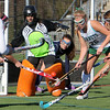 Allegra Boverman/Gloucester Daily Times.  All eyes on the ball during the MIAA North Division II Semi-finals held at North Andover High School on Saturday. Manchester-Essex beat Swampscott 2-0 and will play on Monday in North Andover against Watertown.