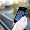 Allegra Boverman/Gloucester Daily Times. The newly launched MBTA mTicket app for smart phones.
