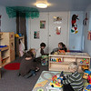Allegra Boverman/Gloucester Daily Times. Wellspring House's Children's Play Space got refurbished with help from Horizons for Homeless Children very recently. Wellspring's Washington Street shelter's place space also got upgraded. Children were playing there at the Essex Avenue location during the Open House and Annual Meeting  on Tuesday evening.