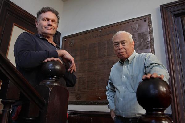 Veterans Plaques Under Restoration