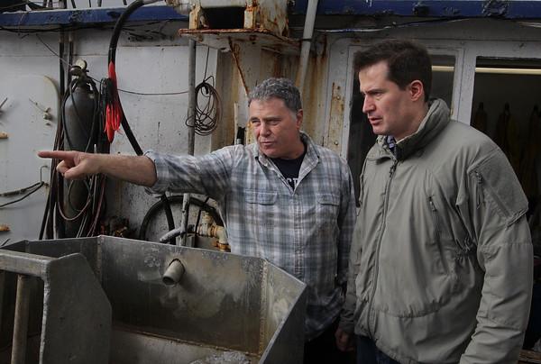 Moulton Meets with Fishermen