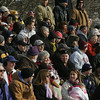 Gloucester: Gloucester fans pack the stands at Deering Stadium in Danvers to watch the Fisherman play in the Thanksgiving Day football game Thursday monring. Gloucester defeated Danvers 43-0. Mary Muckenhoupt/Gloucester Daily Times