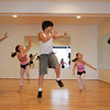 "Gloucester: Joseph Billante, 12, rehearses with his sister's Zariah, 9, Matina, 7, Daunika, 5, and Aurora, 10, for Wednesday night's event at Cruisport called ""Cape Ann's Got Talent"" to raise money for Cape Ann Families at Dawn's Studio of Dance Thursday afternoon. Mary Muckenhoupt/Gloucestr Daily Times"
