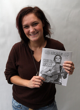 """Chelsea Berry was recently featured on the cover of """"The Noise,"""" a New England music magazine. Photo by Kate Glass/Gloucester Daily Times"""
