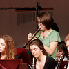 "Rockport: Melanie Koerth performs a solo on trumpet as the Rockport High School Band plays ""Avatar Soundtrack Highlights"" during The Big Gig on Thursday night. Photo by Kate Glass/Gloucester Daily Times"