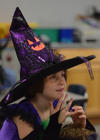 Halloween Parade at Plum Cove School