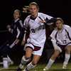 Gloucester: Gloucester's Clare Pleuler has been a key player in getting the girls soccer team into the playoffs. Photo by Kate Glass/Gloucester Daily Times Tuesday, October 27, 2009