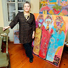 Rockport: Elizabeth Harty will have a solo show at the Rockport Art Association running October 25th through November 6th. An opening reception will be held on Sunday from 2-4pm. Photo by Kate Glass/Gloucester Daily Times