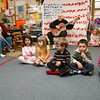 "Manchester: Carol Mead and the children at Shore Nursery School perform ""Five Little Pumpkins"" for members of the Manchester Council on Aging yesterday afternoon during a Halloween Sing-Along. Photo by Kate Glass/Gloucester Daily Times Wednesday, October 28, 2009"