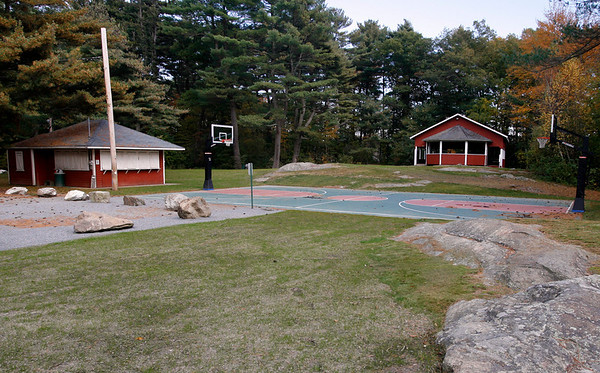"""Essex: Centennial Grove is open to the public again after being shut down all summer for filming of the movie, """"Grown Ups."""" The production company renovated the buildings on the property, installed a basketball court, improved the parking lots and replanted grass. Photo by Kate Glass/Gloucester Daily Times Thursday, October 22, 2009"""