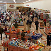 Gloucester: Hundreds of people shopped at Market Basket yesterday during the store's opening. Photo by Kate Glass/Gloucester Daily Times Wednesday, October 7, 2009
