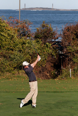 Gloucester: Gloucester High School golfer Ben Mosse will be playing in the Northeastern Conference Open today. Photo by Kate Glass/Gloucester Daily Times Monday, October 19, 2009