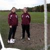Gloucester: Gloucester girls soccer players Bianca Giacalone and Kali Cook, both high-scoring sophomores, have helped the Fishermen to the Division 2 North tournament. Photo by Kate Glass/Gloucester Daily Times