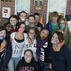 Gloucester: Students at Gloucester High School participated in NoH8, pronounced no hate, a day of silence where they couldn't speak to show they are against bullying Friday. Mary Muckenhoupt/Gloucester Daily Times