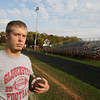 Gloucester: Anthony Latassa has been the long snapper for Gloucester since his sophomore year and is one of the team's most reliable players. Photo by Kate Glass/Gloucester Daily Times