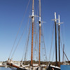 The Highlander Schooner is now docked next to The Adventure at Gloucester Marine Railways. David Le/Gloucester Daily Times