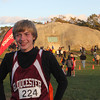 Gloucester's Andrew King, 8th grade, won fourth place in the boys Northeast Conferance at the Jim Munn Invitational at Stage Fort Park on Friday afternoon. Jesse Poole/Gloucester Daily Times Oct. 28, 2011