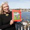 """Local author Penelope Broberg, of Rocky Neck, recently published a children's book titled """"Sleuthy Gumshoe: The Remarkable Detective"""" David Le/Gloucester Daily Times"""