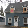 Allegra Boverman/Gloucester Daily Times. A Rockport firefighter was injured while working at the scene of a fire at 49 Granite Street in Rockport on Sunday afternoon.