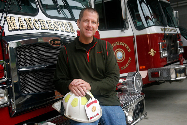 Allegra Boverman/Gloucester Daily Times. Incoming Manchester Fire Chief Glen Rogers.