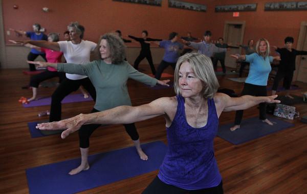 Yoga at the Rockport Senior Center