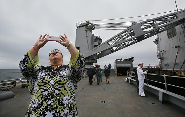 U.S.S. Fort McHenry Visits Gloucester