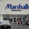 Gloucester: A steady stream of customers kept Marshalls very busy on their first day of business at Gloucester Crossing Thursday morning.  The store opened at 8 a.m. on Thursday and closed at 10 p.m. but regular store hours will be 9:30 a.m to 9:30 p.m. Monday through Saturday and 11 a.m. to 8 p.m. on Sunday. Mary Muckenhoupt/Gloucester Daily Times