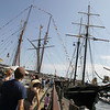Gloucester: Schooners Bluenose II and Unicorn were docked behind the Maritime Heritage Center Saturday allowing public access to both vessels.  The schooner Unicorn is unique because it's crew is made up entirely of women. Mary Muckenhoupt/Gloucester Daily Times