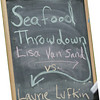 Seafood Throwdown Lisa Van Sand vs Laurie Lufkin Photos by Kate Glass/Gloucester Daily Times