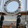 Gloucester: A woman takes a picture aboard the Bluenose II during public tours of the schooner Saturday afternoon. Mary Muckenhoupt/Gloucester Daily Times