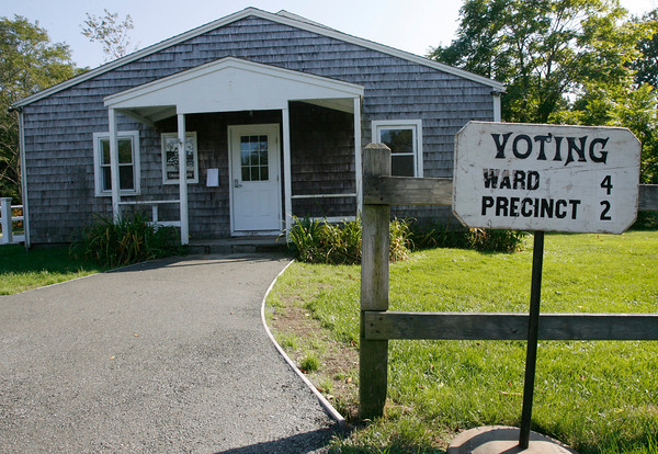 The Lanesville Community Center will be open for voting today from 7 a.m. to 8 p.m., replacing Plum Cove Elementary School as a polling place for Ward 4, Precinct 2.