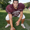 Senior captain Gus Margiotta will anchor a young offensive and defensive line. Photo by Kate Glass/Gloucester Daily Times Tuesday, September 8, 2009