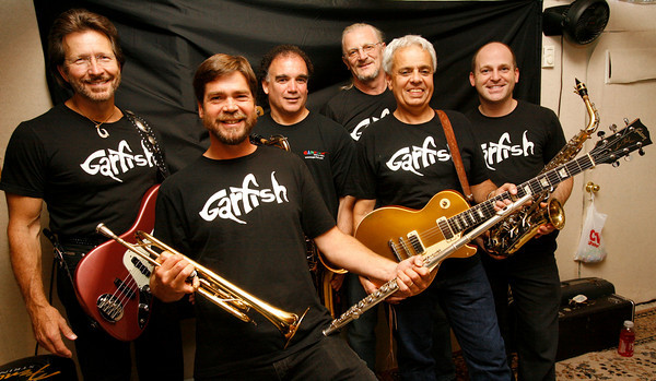 Gloucester: The Gloucester-based band Garfish will be performing at the Topsfield Fair on Saturday. Members of the band are: Gar Hiltz, Dan Rehner, Walter Piscitello, Frank Bernardini, Doug Comeau, and Jeff Worthley. Photo by Kate Glass/Gloucester Daily Times Wednesday, September 30, 2009