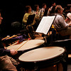 Gloucester: Richard Fish plays the timpani in the Cape Ann Symphony as they prepare for the opening concert of their 58th season. Photo by Kate Glass/Gloucester Daily Times Thursday, September 17, 2009