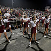 Gloucester: Gloucester High Cheerleaders perform a cheer as the Fishermen take on Andover Thursday night. Photo by Kate Glass/Gloucester Daily Times Thursday, September 17, 2009