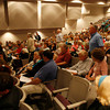 Rockport: People volunteer to count votes during Rockport's town meeting at the High School Auditorium last night. Photo by Kate Glass/Gloucester Daily Times Monday, September 14, 2009