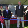 Rockport: From left: Marylin Militello, Robert Visinic, Robert Hasting and Christine Marek prepare to cut the ribbon at the Den Mar Rehab Cocktail Party, ceremonially opening a new rehab suite on Thursday afternoon.<br /> Gloucester Daily Times/Silvie Lockerova