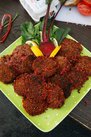 Gloucester: Root Vegetable Cakes Photo by Kate Glass/Gloucester Daily Times Thursday, September 17, 2009