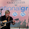 Gloucester: Allen Estes performs at Celebrate Gloucester yesterday evening. Photo by Kate Glass/Gloucester Daily Times