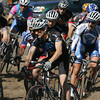 Gloucester: Competitors in the Master Men's begin their race though one of the parking lots at Stage Fort Park for the 12th annual Gran Prix of Gloucester cyclocross Saturday morning.  Hundreds of cyclists came to Gloucester to compete in the two day event which turns the Stage Fort Park into a zig-zag race course.  Mary Muckenhoupt/Gloucester Daily Times