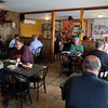 Gloucester: The Causeway was packed with diners during lunch yesterday. Photo by Kate Glass/Gloucester Daily Times