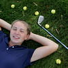 Rockport: Rockport freshman Abby Hood is the only female high school golfer in the Cape Ann League. Mary Muckenhoupt/Gloucester Daily Times