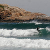 Gloucester: A surfer rides a wave at Good Harbor Beach on Monday afternoon, taking advantage of the high surf caused by Hurricane Igor, which passed offshore on Monday. Photo by Kate Glass/Gloucester Daily Times
